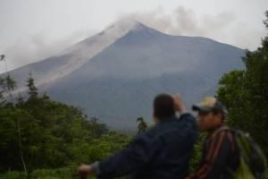 Tragedia volcán de Fuego
