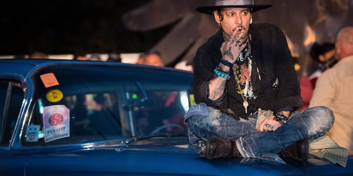 FOTOS. Un irreconocible y desmejorado Johnny Depp preocupa a fans