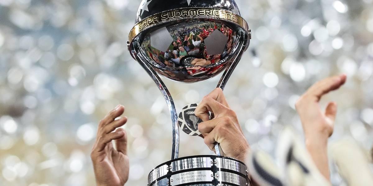 Se definen los rivales de los equipos colombianos en Copa Sudamericana