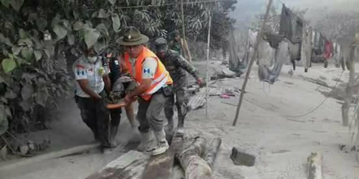 México brinda apoyo a los guatemaltecos por erupción de Volcán de Fuego