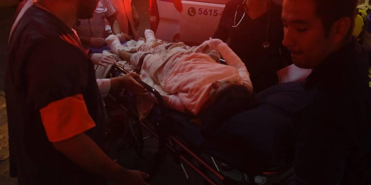 Hospital General no se da abasto para atender a víctimas de erupción de volcán de Fuego