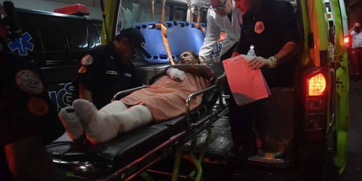 Brindan detalles sobre estado de salud de pacientes ingresados a hospitales tras la erupción
