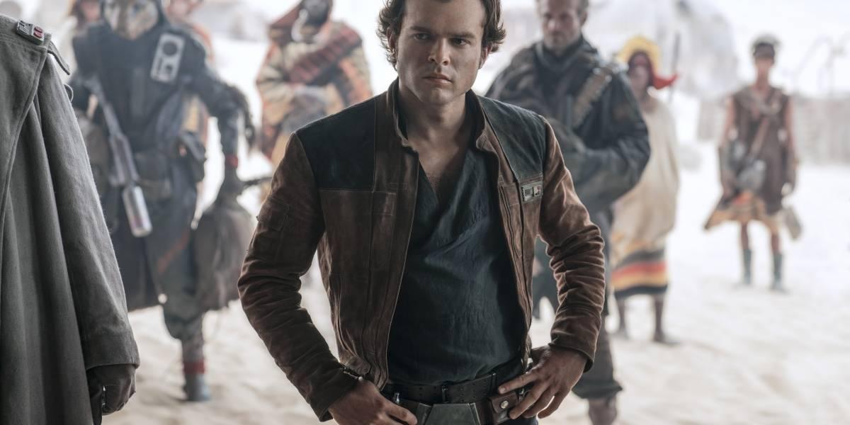 Película sobre Han Solo pierde fuerza en la taquilla