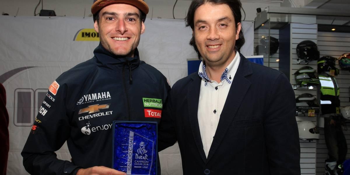 Ignacio Casale es homenajeado por Imoto