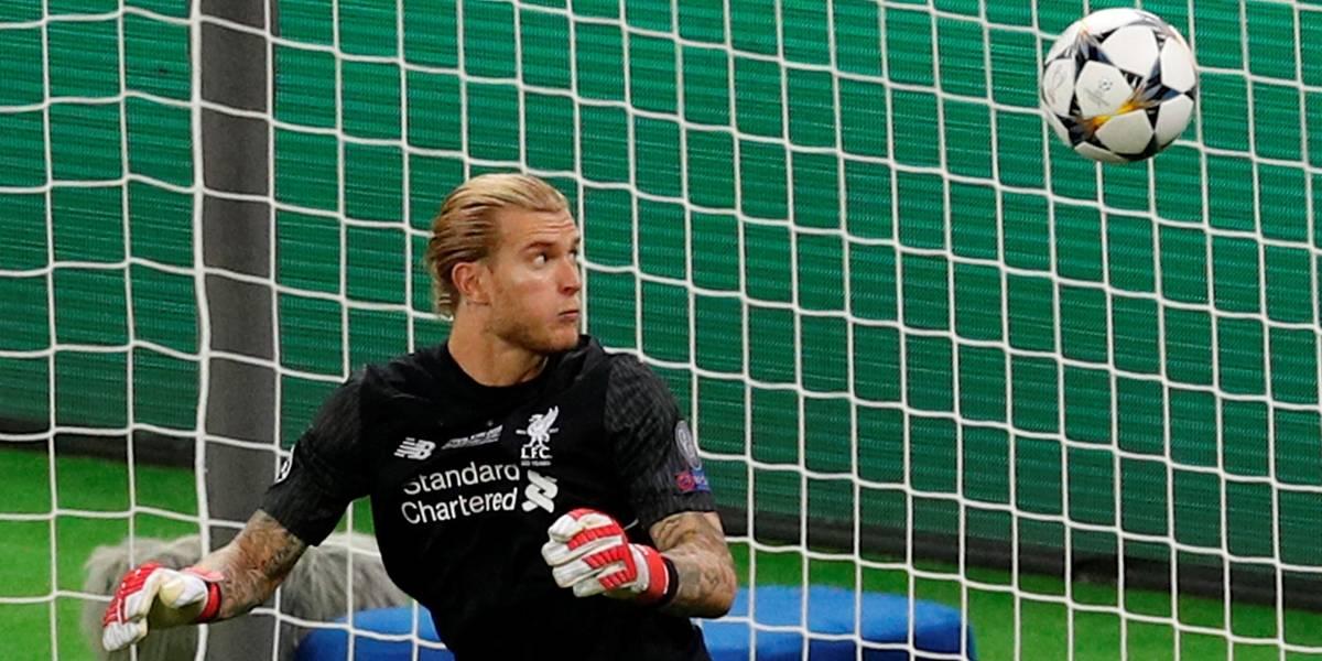 Goleiro do Liverpool sofreu concussão durante final da Liga dos Campeões