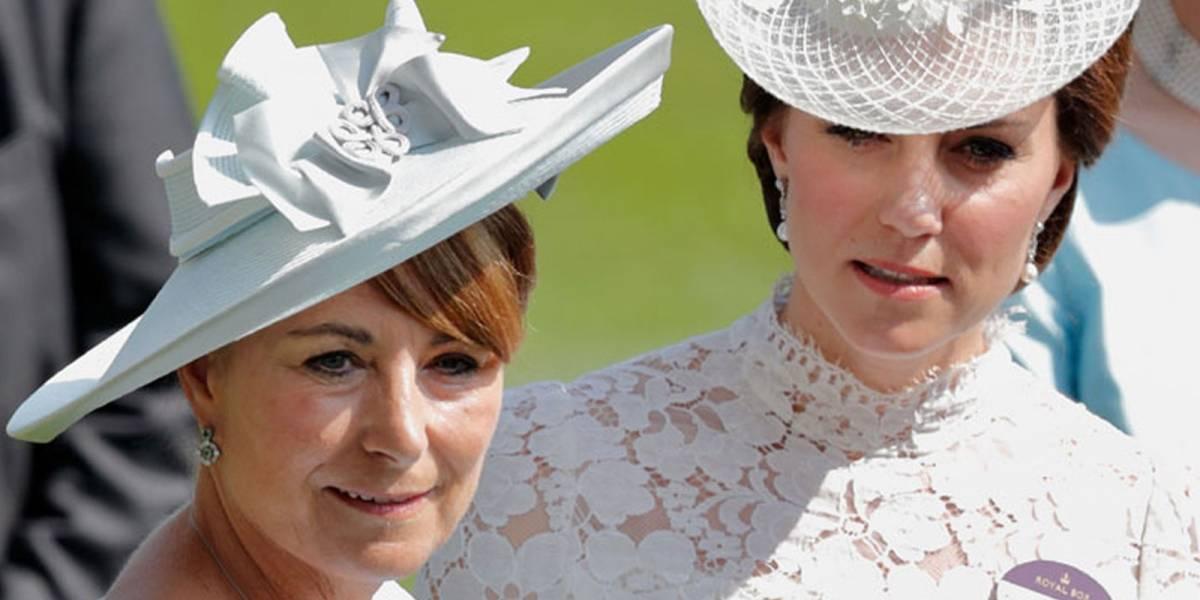La mamá de Kate Middleton es Event Planner y ya está planificando el bautizo de su tercer nieto
