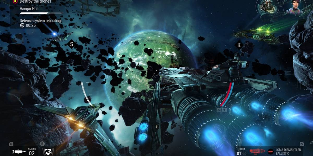 Shooter de ação sci-fi, 'Manticore - Galaxy on Fire' chega à Apple TV