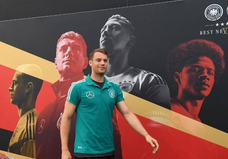 Manuel Neuer será el portero titular de Alemania en el Mundial