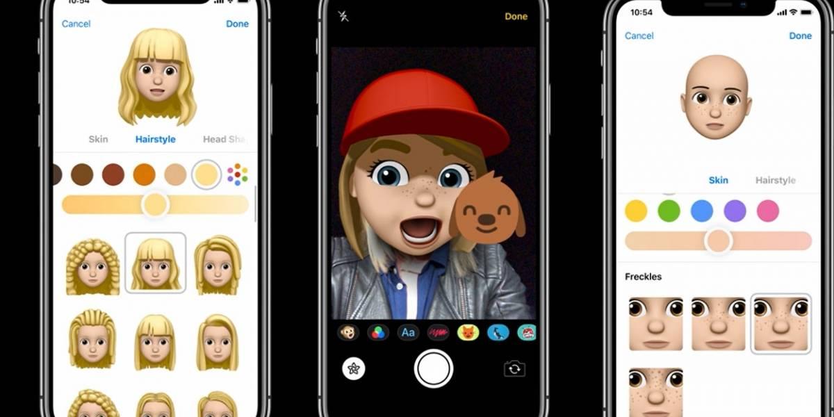 Apple te deja personalizar tus emojis con un Memoji #WWDC18