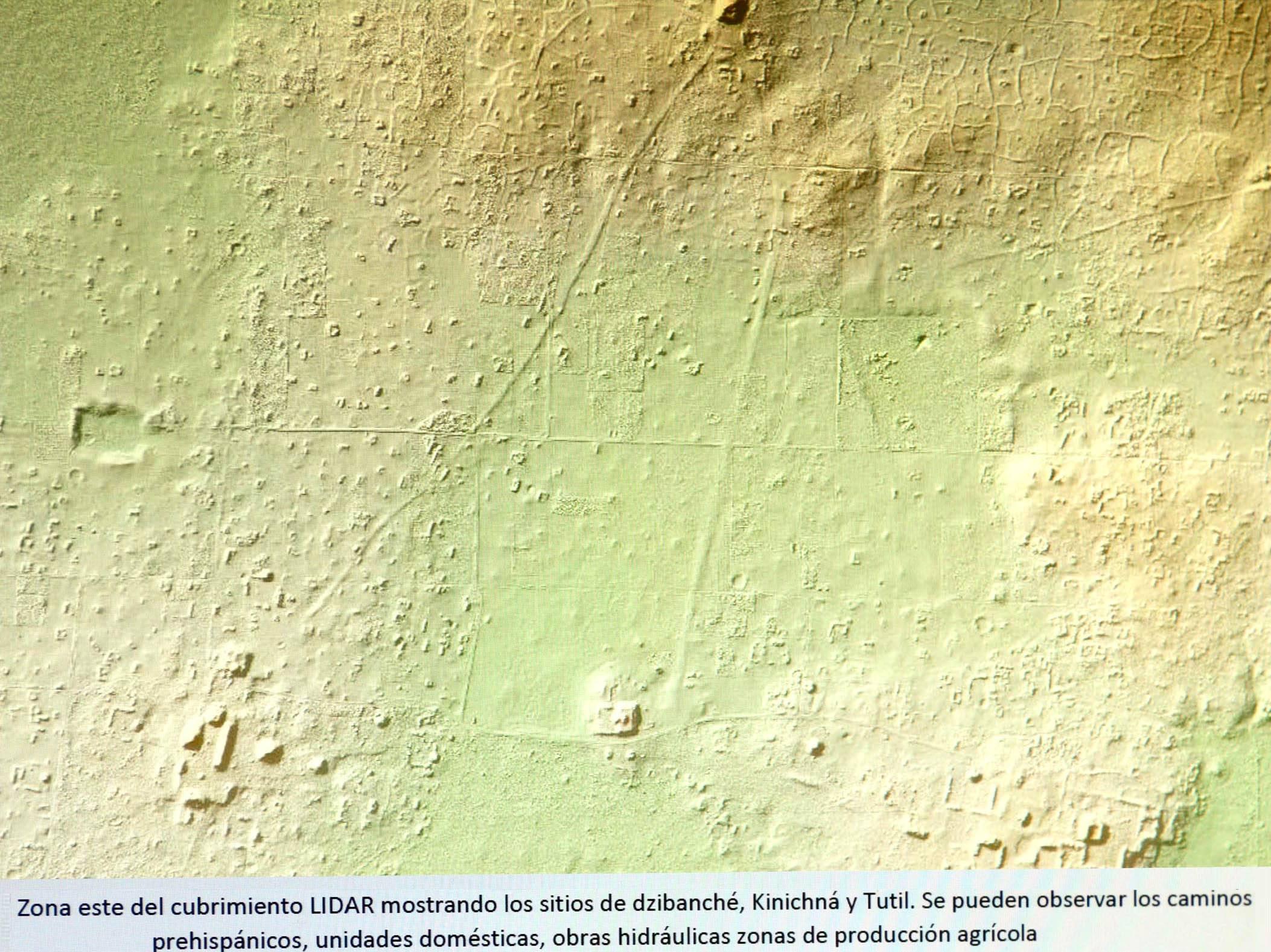 México científicos descubren red de carreteras mayas mediante sensores láser