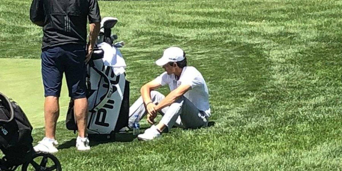 Joaquín Niemann no pudo con el cansancio y quedó fuera del US Open