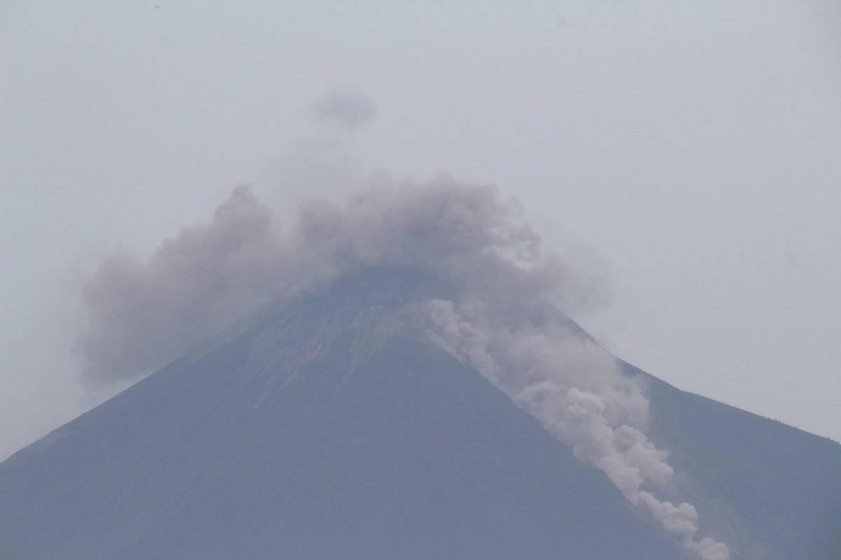 nueva erupción del volcán de Fuego