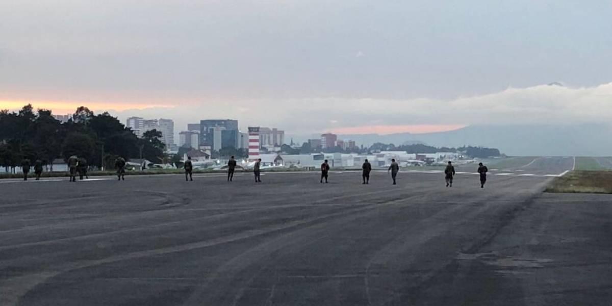 Reabren aeropuerto de Guatemala tras actividad volcánica