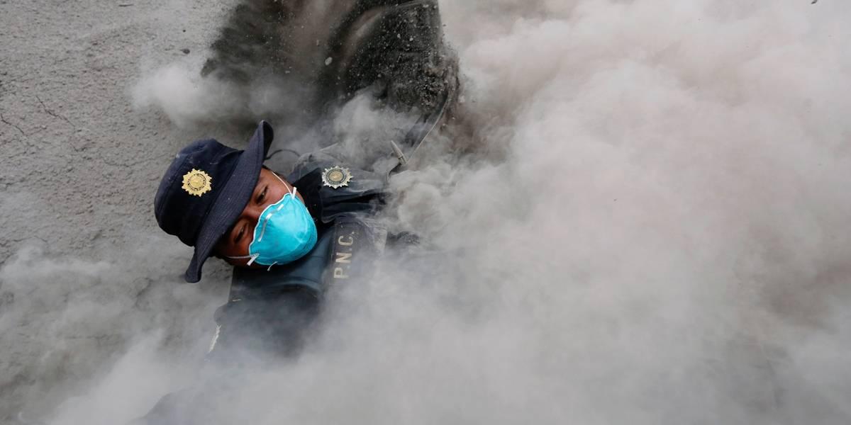 Número de mortos após erupção do Vulcão de Fogo sobe na Guatemala