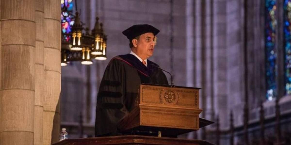 Bhatia expone crisis humanitaria de Puerto Rico ante graduandos de Princeton