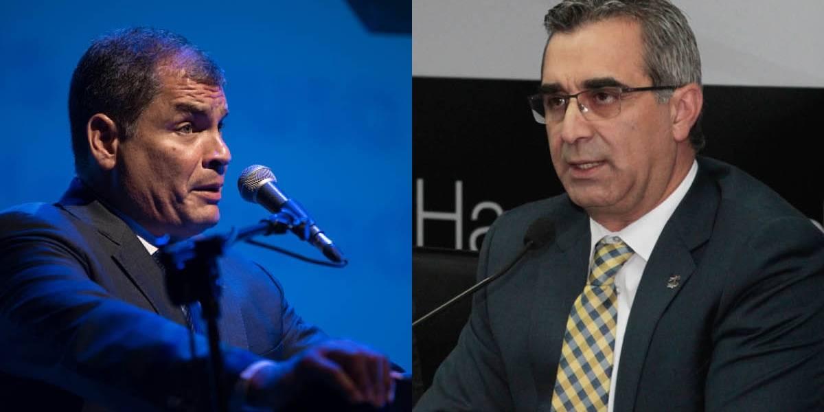 Rafael Correa habló del Cpccs transitorio que destituyó a Gustavo Jalkh