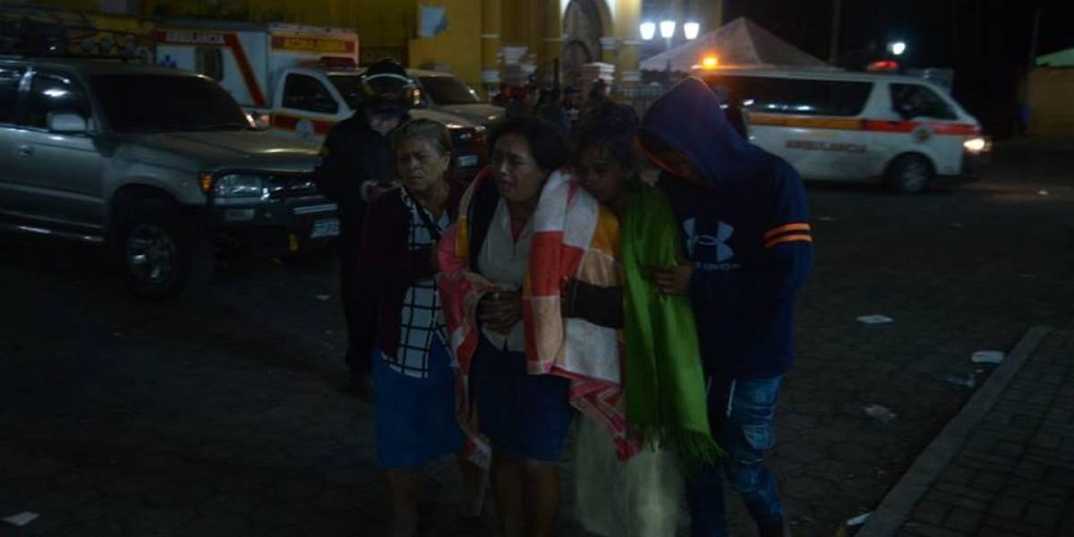 El desgarrador relato deuna madre que perdió a su hija en la tragedia del volcán de Fuego