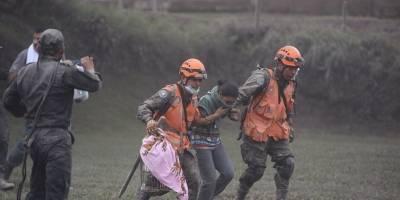 rescatados por el Ejército en Granja Toledo tras erupción