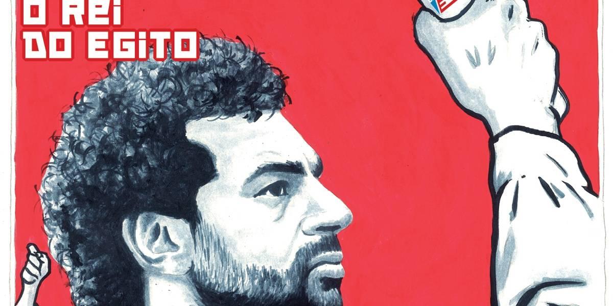 Salah: vem do Egito o cara que pode de desbancar Cristiano Ronaldo e Messi