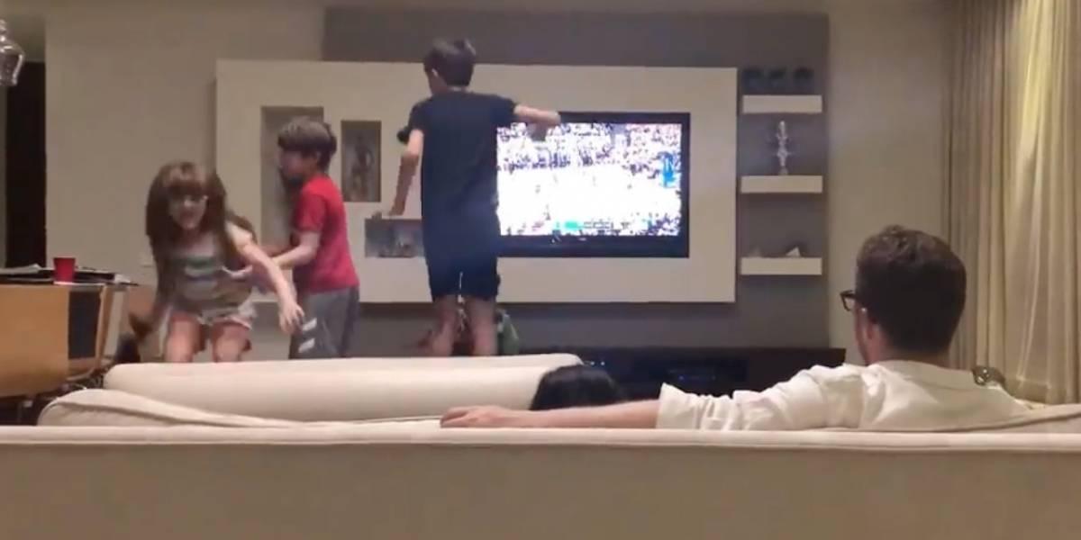 Hijos de Bernier no le dejan ver el partido de los Cavs vs Warriors