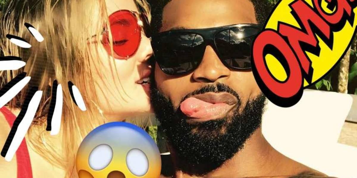 Khloé Kardashian reacciona ante el álbum de Kanye que habla sobre la infidelidad de Tristán