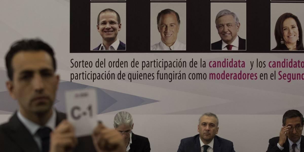 Anaya abre y cierra tercer y último debate presidencial