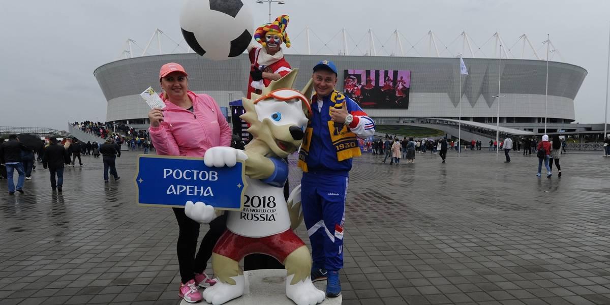 Copa 2018: os países que mais levarão visitantes à Rússia