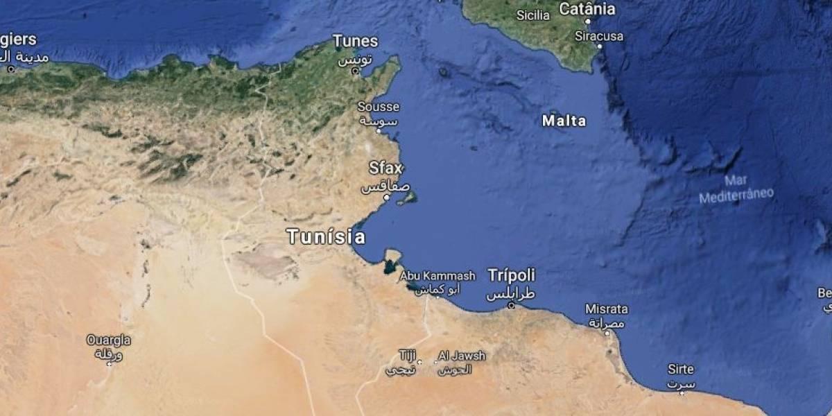 Tragédia: Imigrantes morrem em naufrágio na Tunísia