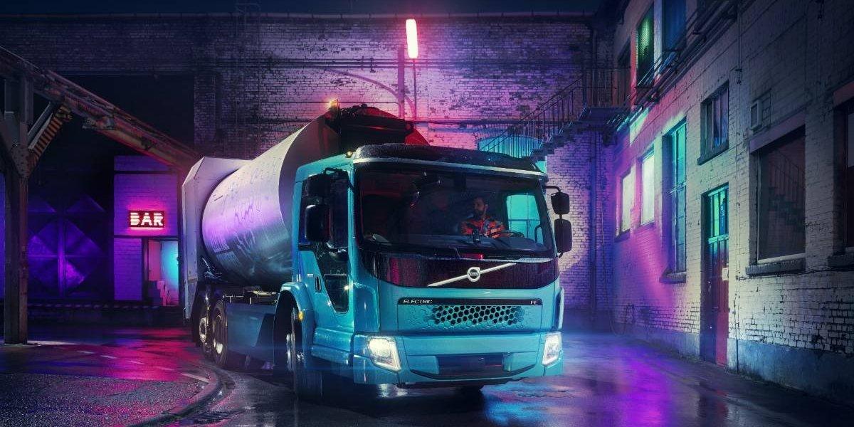 Volvo Trucks presenta su nuevo camión eléctrico, el FE Electric