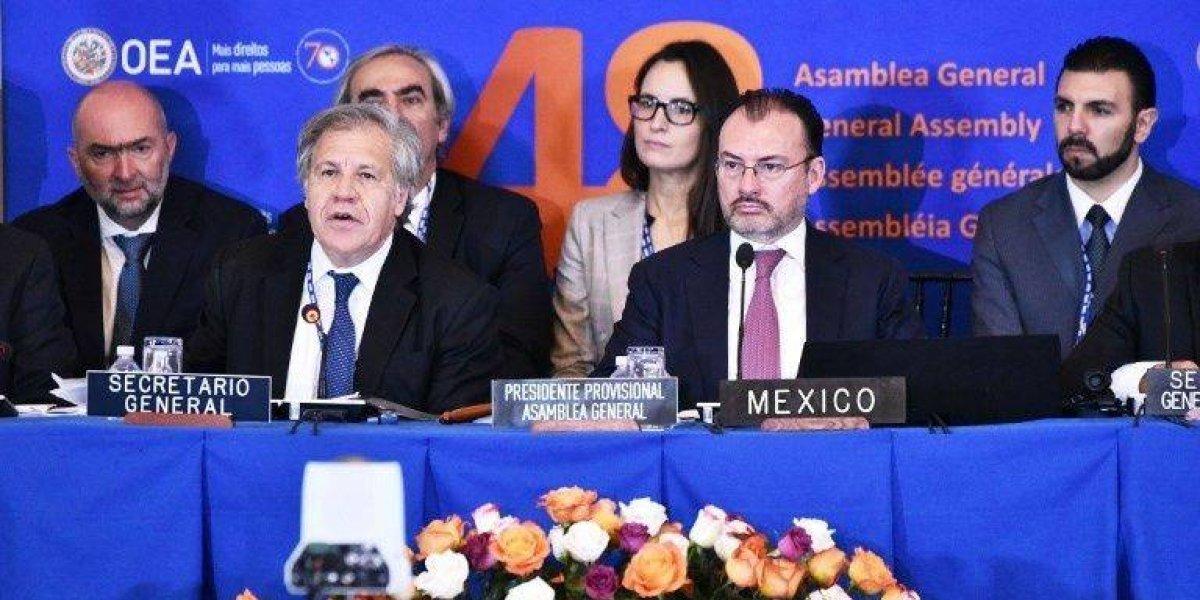 La OEA votará una resolución con la que podría suspender a Venezuela
