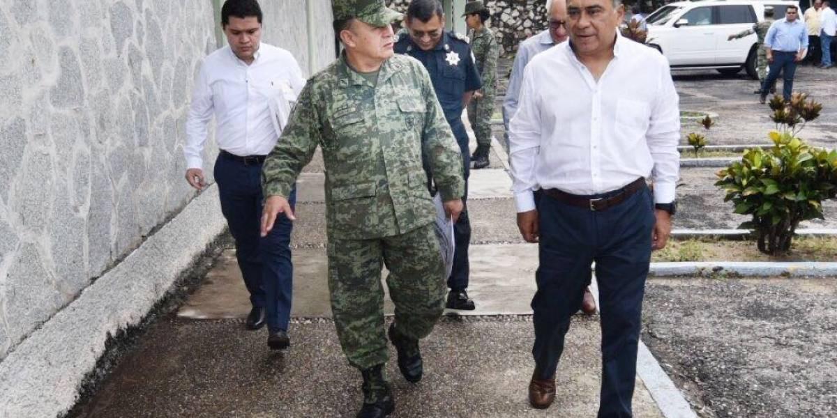 Astudillo Flores supervisa seguridad en Guerrero
