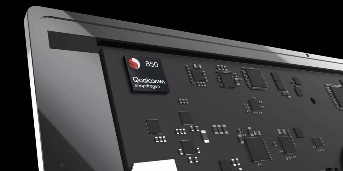 Qualcomm presenta su chip Snapdragon 850, solo para PCs con Windows