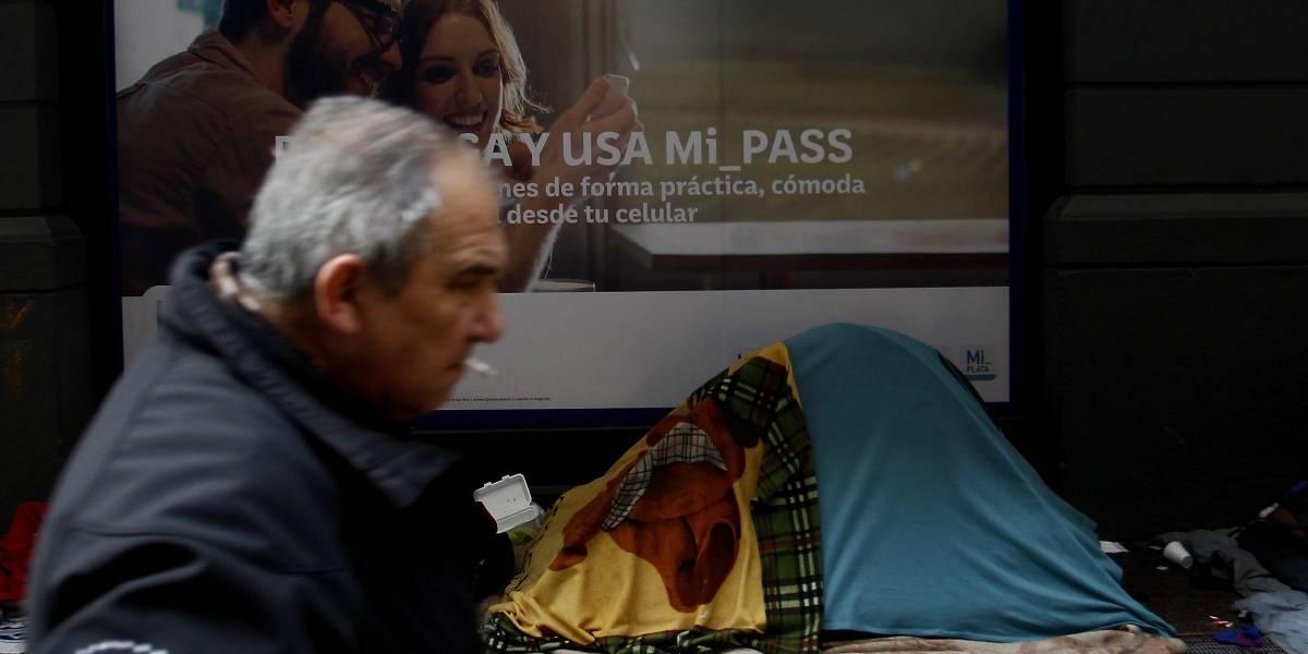 Es la cuarta víctima en la Región Metropolitana: una mujer de 60 años fallece por hipotermia en Puente Alto