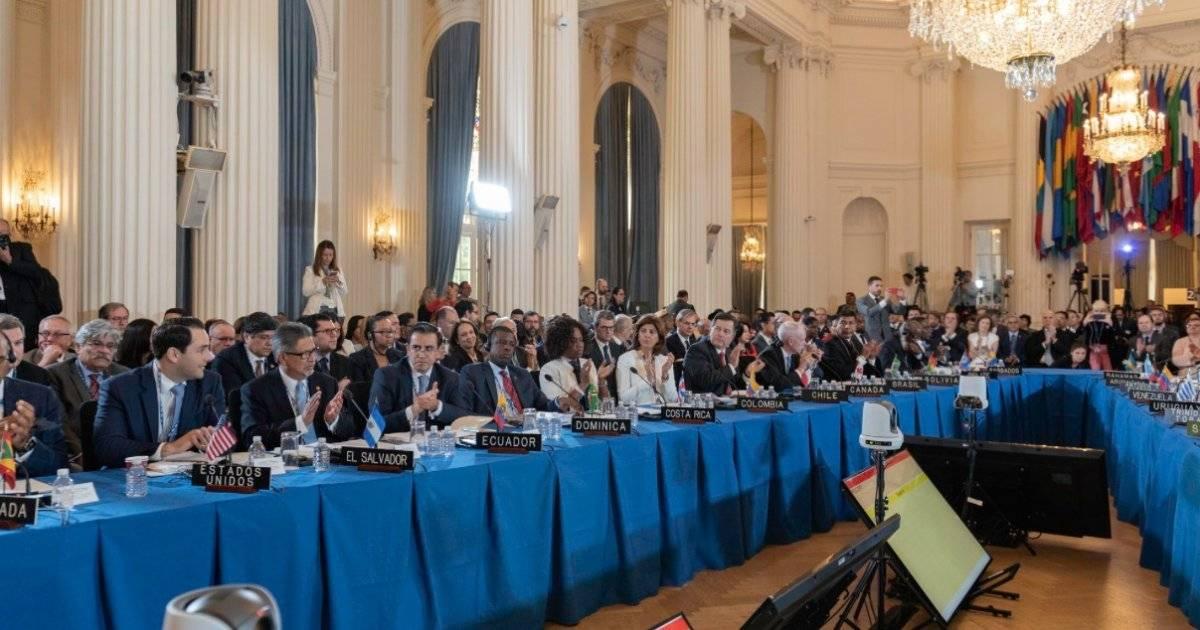 OEA en su 48 asamblea general