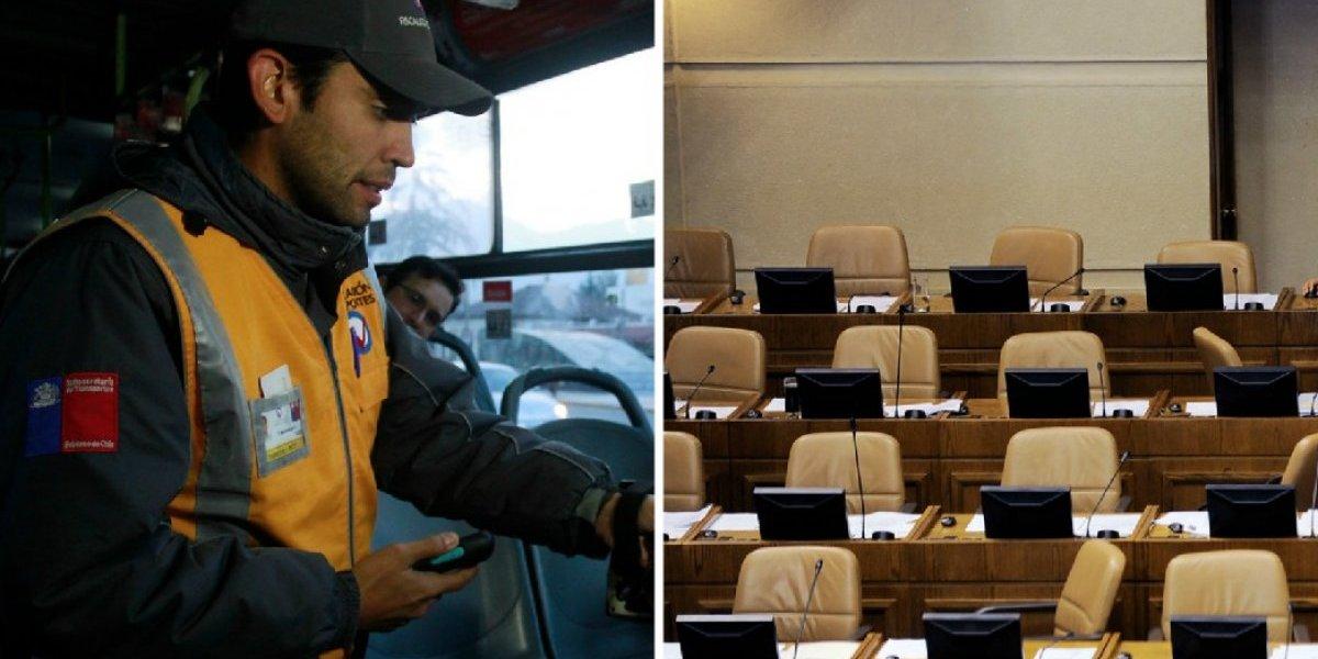 """Registro de evasores: tuiteros critican multas a pasajeros versus políticos que """"se quedan sin postre tres días"""""""