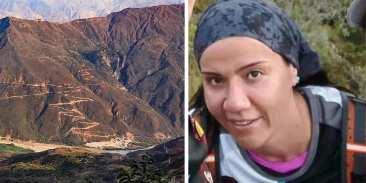 Mujer que murió en el Cañón de Chicamocha compartió video antes de fallecer