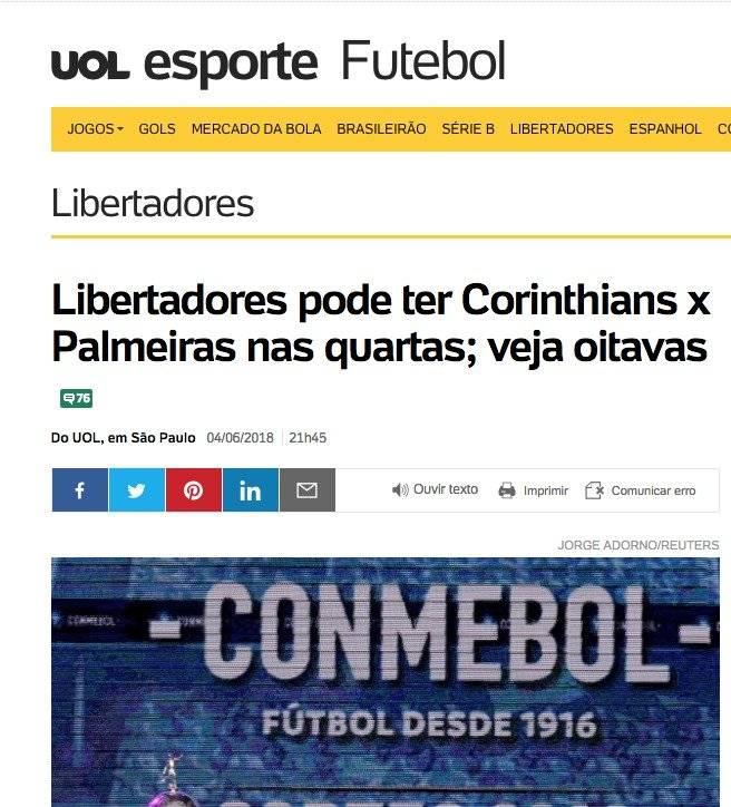 Los medios en Brasil se ilusionan con un clásico Paulista