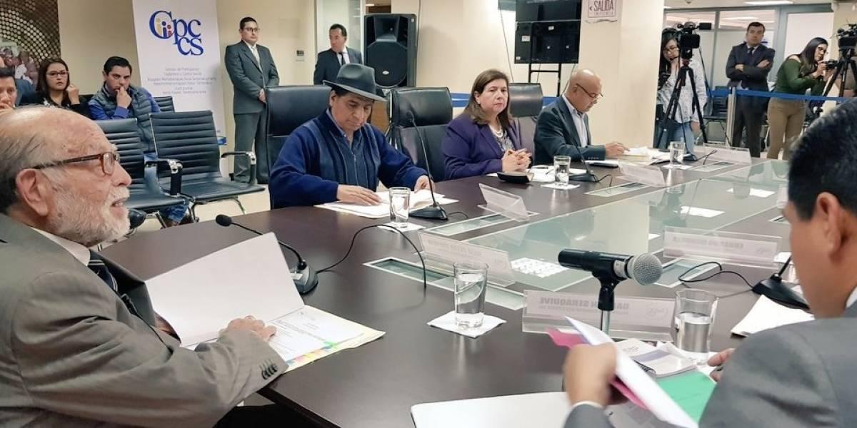 Cpccs transitorio eliminó requisito para candidatos a las nuevas autoridades de control
