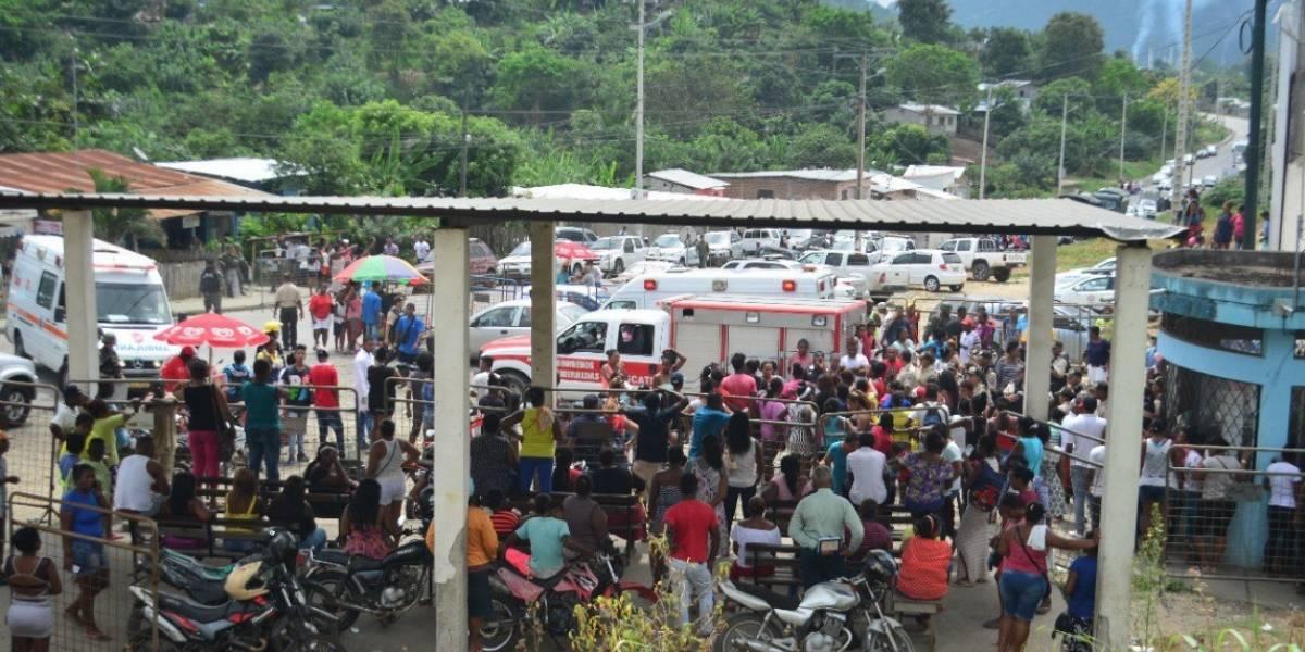 Más de 30 heridos por desmanes en cárcel de Esmeraldas