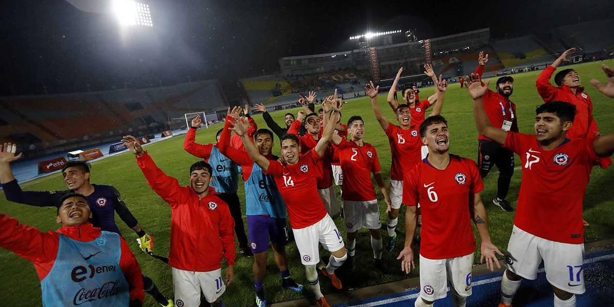 Una notable Roja Sub 20 conquistó el oro del fútbol masculino en los Juegos Suramericanos