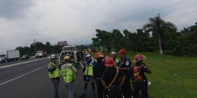 Comunidades evacuadas