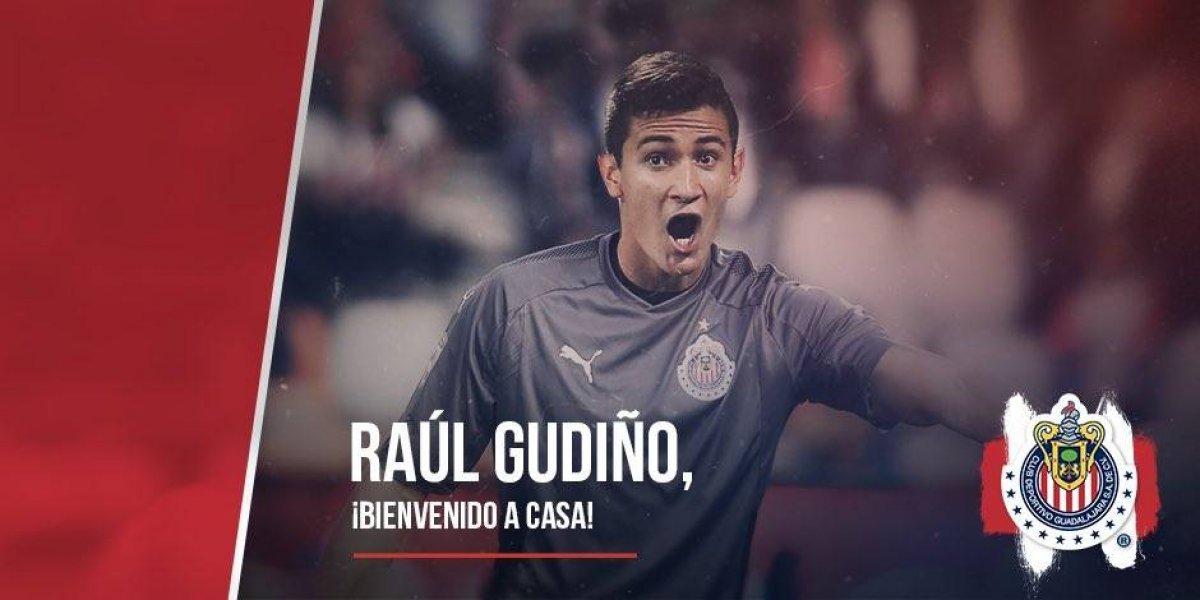 Raúl Gudiño se convierte en el nuevo portero de Chivas