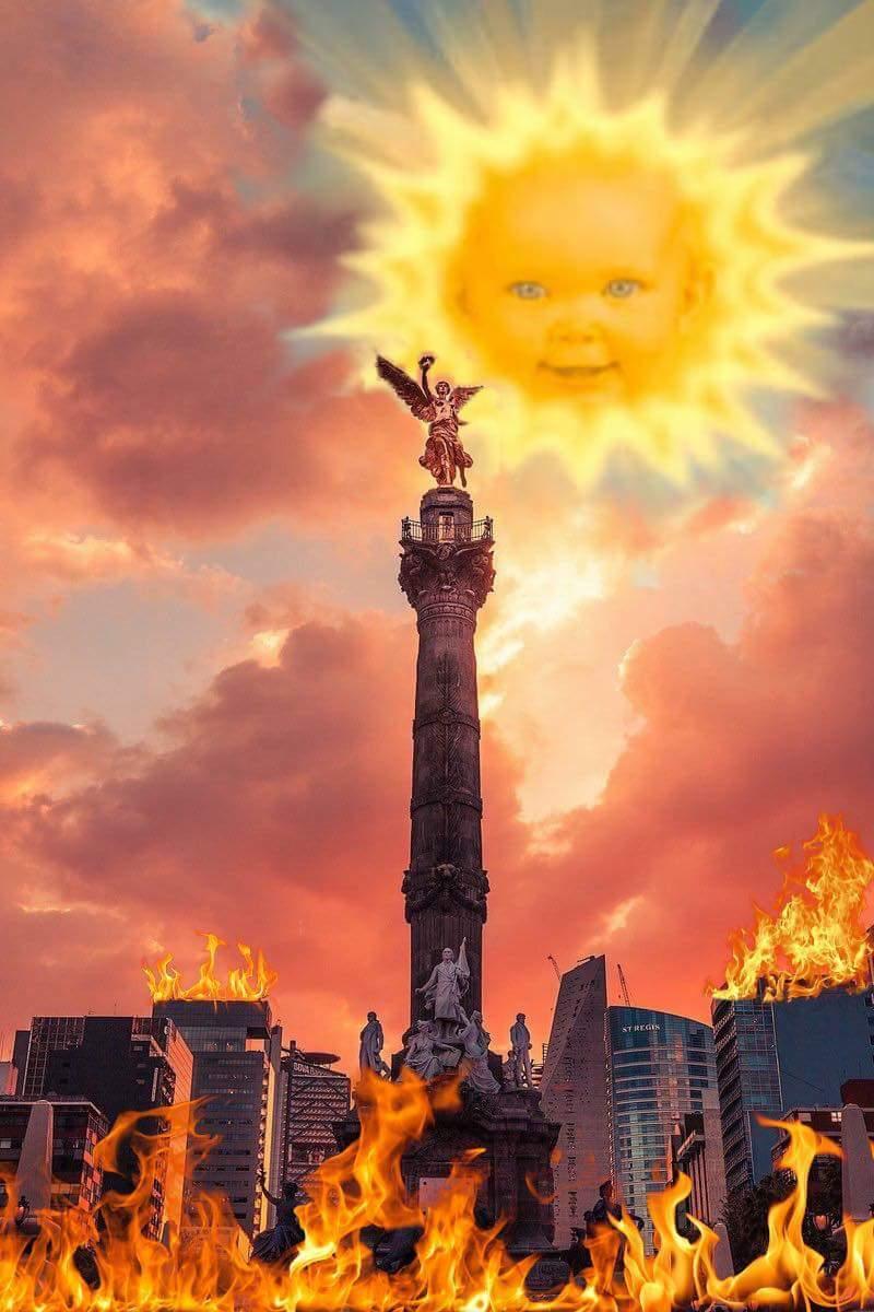 En México, la ola de calor está derritiendo los semáforos y la gente está perdiendo la cabeza