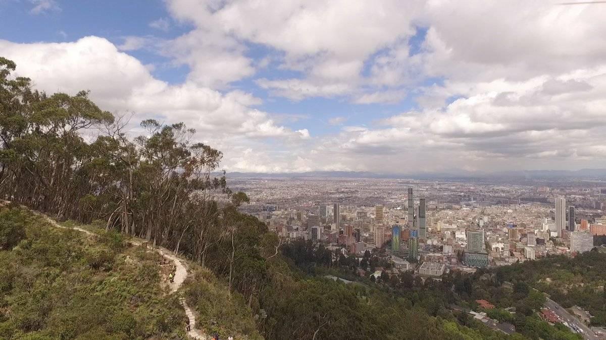 Panorámica de Bogotá Acueducto de Bogotá