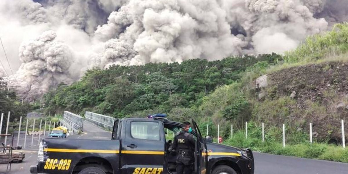 Centroamérica a merced de sus explosivos volcanes