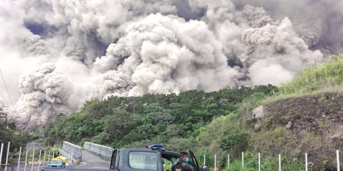 Tragedia en el volcán de Fuego
