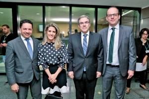 Adriano Cardoso, Laura Cardoso, Ricardo Matos e Marcos Lourenço Capanema