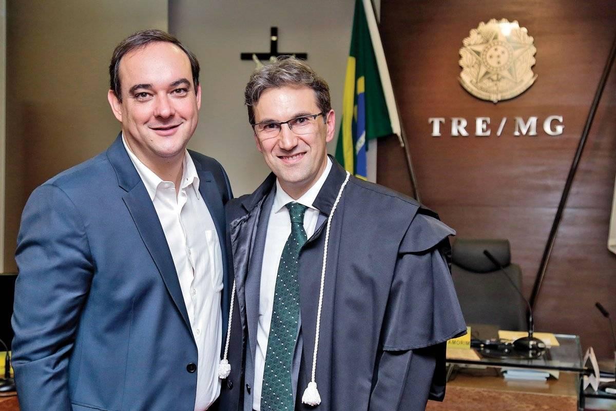 Flávio Roscoe e Tiago Gomes de Carvalho Pinto Anna Castelo Branco