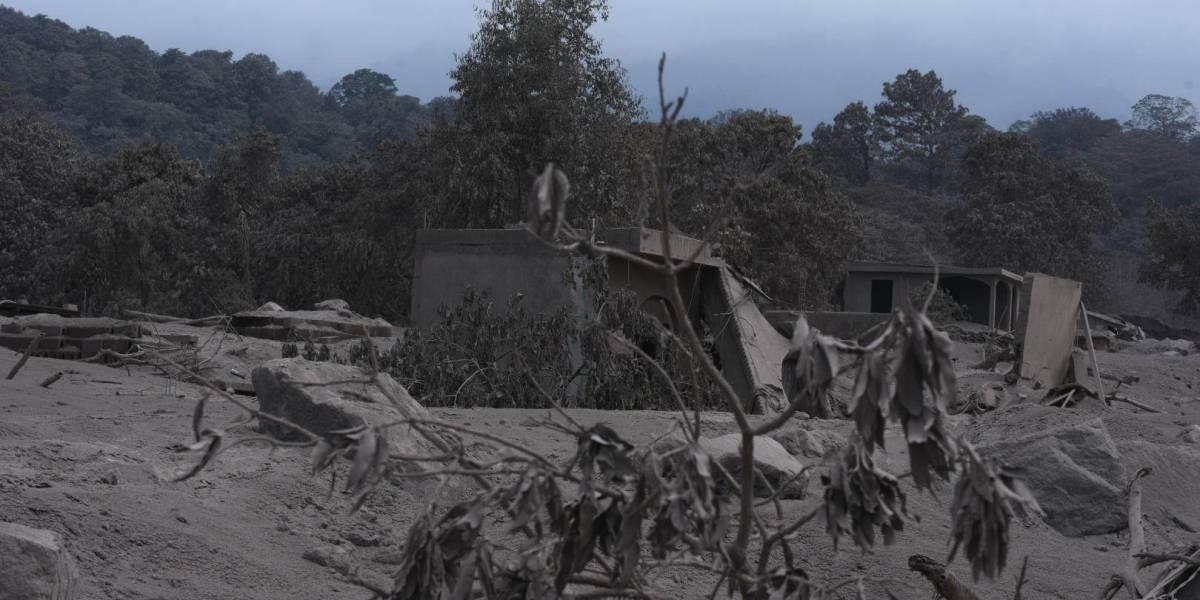 EN IMÁGENES. La realidad que vivían los afectados por el volcán de Fuego