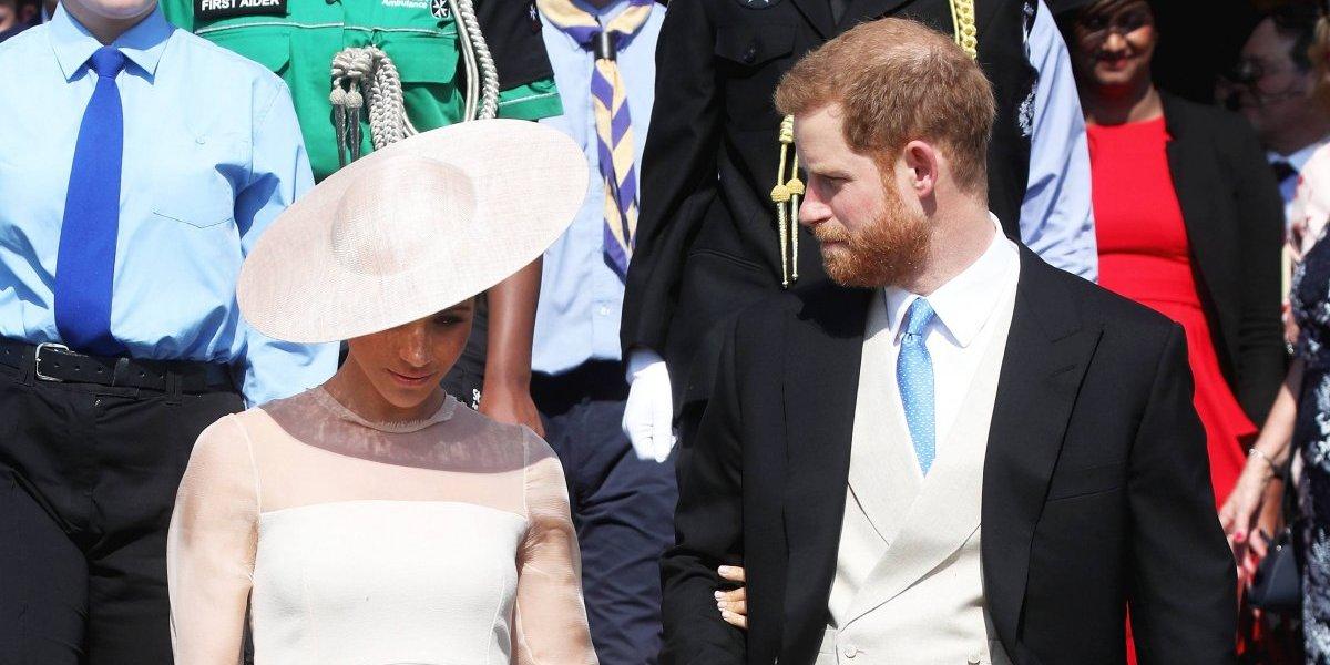 Enrique y Meghan presencian los desfiles en honor de Isabel II